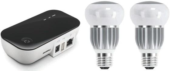 Nuon Smart Lighting lampen