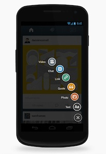 Tumblr voor Android compleet vernieuwd