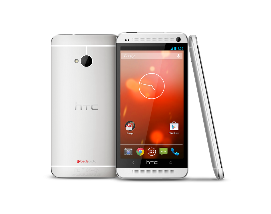 Google introduceert HTC One met stock Android