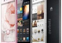'High-end Huawei Ascend P6 gaat 255 euro kosten'