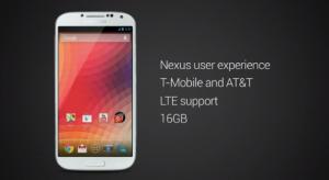 Samsung Galaxy S4 met stock Android voorlopig alleen in VS te koop