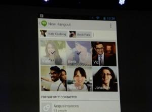 Google kondigt WhatsApp- en Facebook Messenger-concurrent Hangouts aan