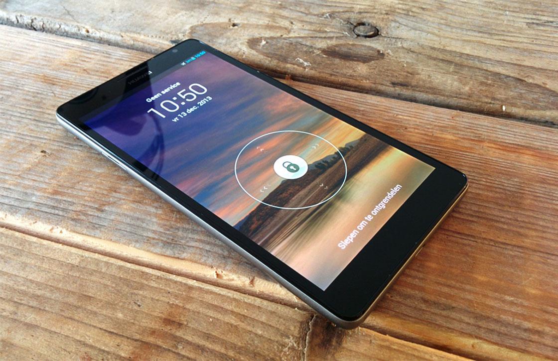 Huawei Ascend Mate Review: groot betekent niet groots