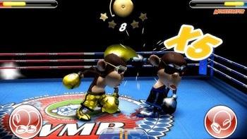 Monkey Boxing voor Android: nieuwe boksgame met apen