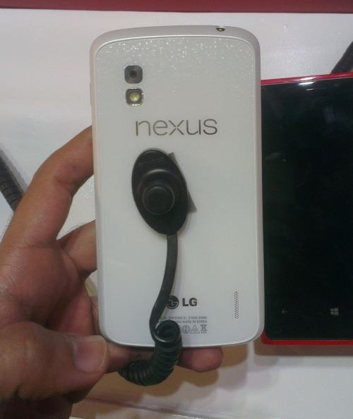 Witte Nexus 4 gespot bij Qualcomm, release mogelijk dichtbij