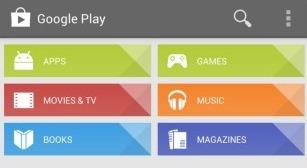 Download de nieuwe Play Store 4.1.6 met interface-verbeteringen
