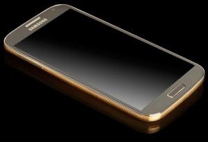 Vergulde Galaxy S4 te koop vanaf 2000 euro
