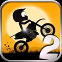 stick stunt biker 2 icoon