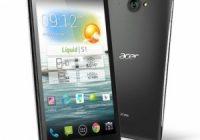 Acer kondigt smartphone aan met 5,7 inch-scherm