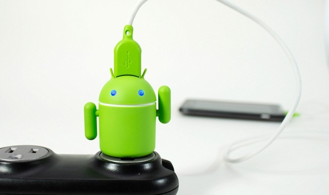 Schattige Android-oplader Andru nu in Nederland te koop