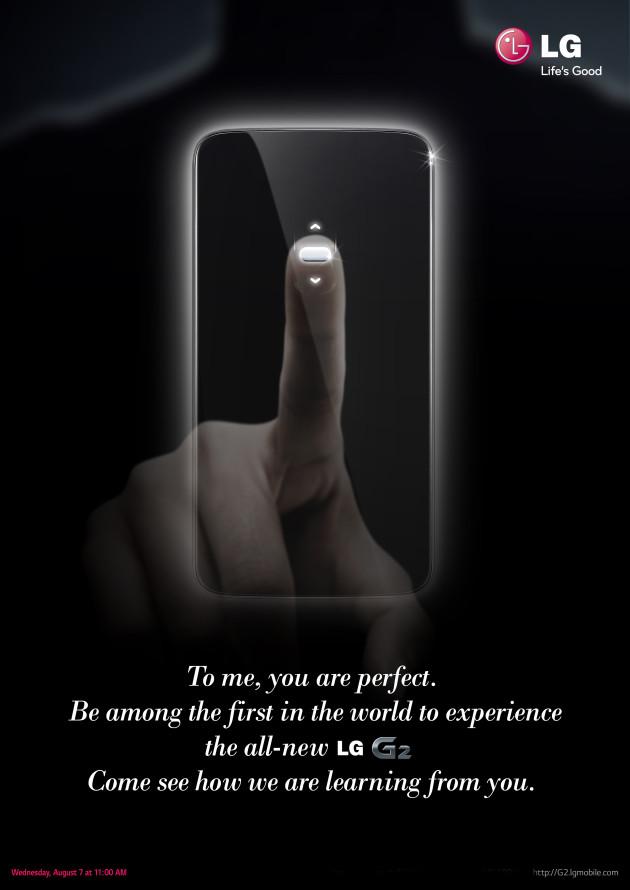 'LG G2 release dichtbij, krijgt vingerafdrukscanner'