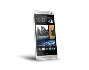 HTC One mini_Glacial Silver_front