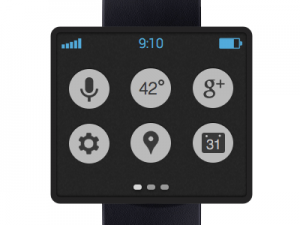 Android 4.3 smartwatch