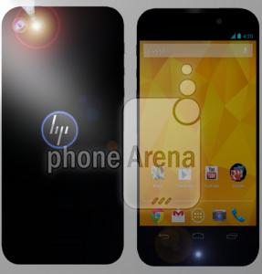 'HP smartphone draait op Android'