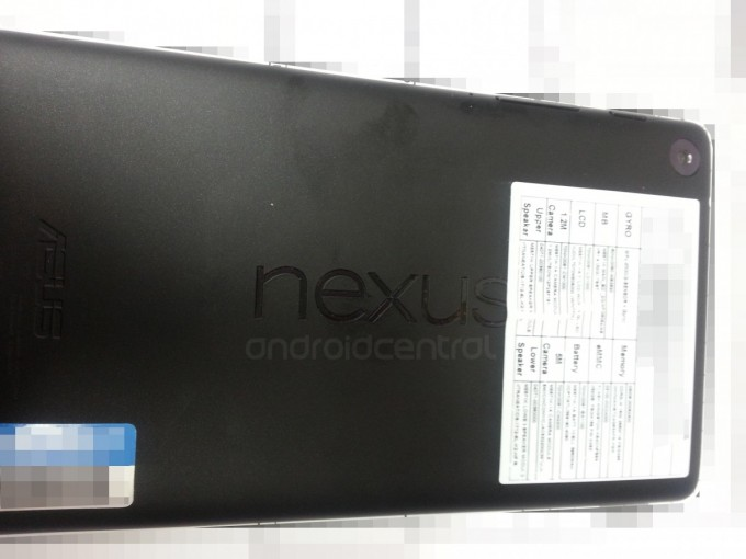 Nieuwe Nexus 7: foto's en video gelekt