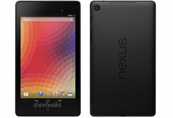 Nieuwe Nexus 7 foto gelekt, laat tablet in volle glorie zien