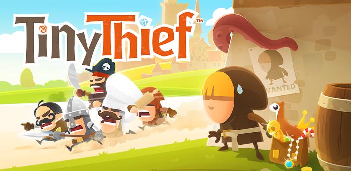 Tiny Thief van uitgever Angry Birds voor Android beschikbaar