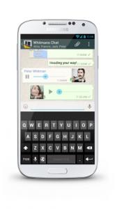 whatsapp spraakbericht