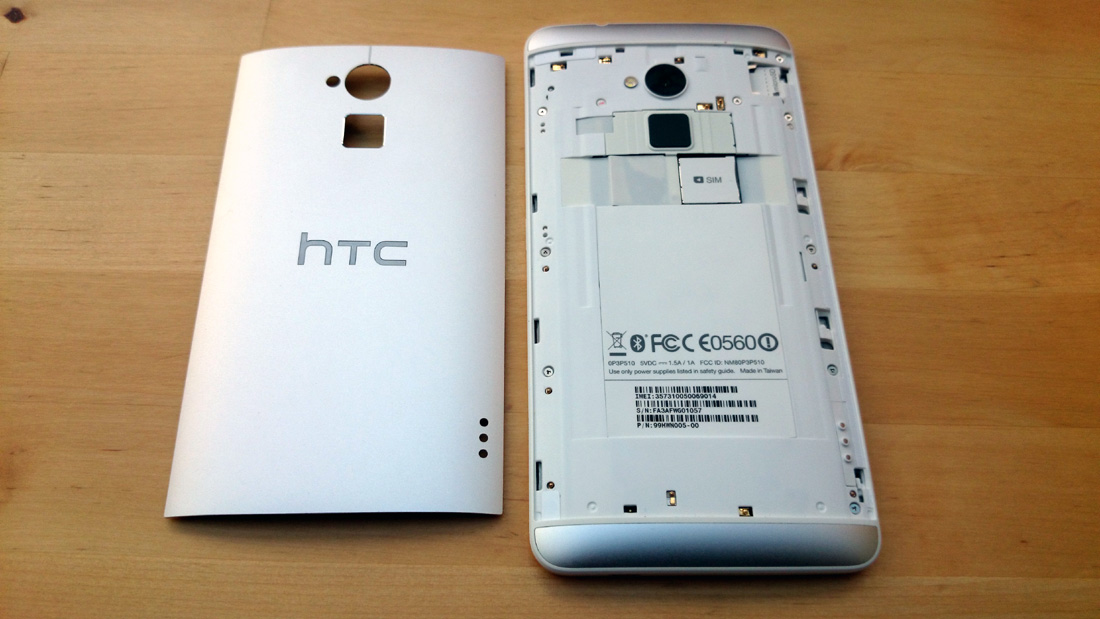 HTC One Max review achterklep