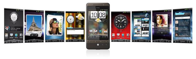 HTC Hero krijgt eindelijk update naar Android 2.1