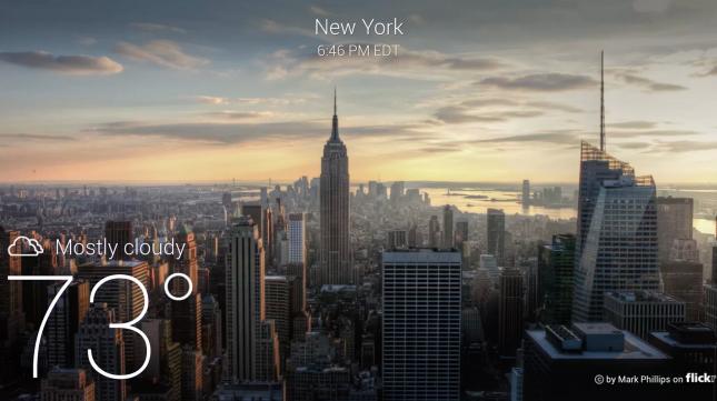 Yahoo Weer: populaire en visuele weer-app uitgebracht voor Android