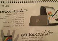 Alcatel One Touch Scribe Pro gelekt: 6 inch en quadcore voor 300 dollar