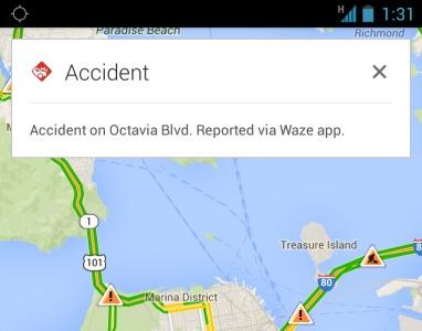 Google Maps gaat je op de hoogte houden van incidenten en ongelukken