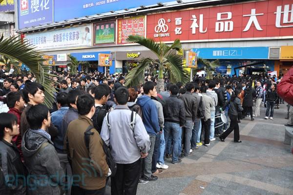 Lange rij in China voor Meizu M9