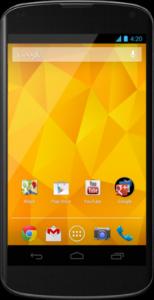 Prijs Nexus 4 100 euro lager geworden op Google Play
