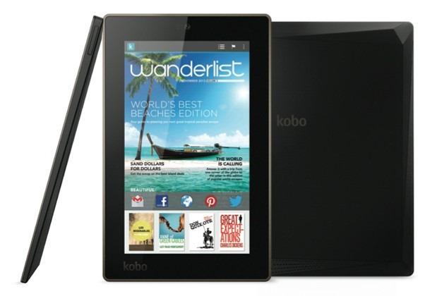 Kobo brengt twee aantrekkelijke Android-tablets uit, full hd en Jelly Bean