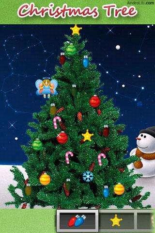 Met Xmas Tree een gratis kerstboom op je Android