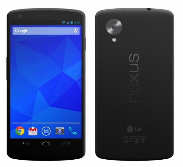 'Nexus 5 aankondiging op 14 oktober, komt met Android 4.4 Kitkat'