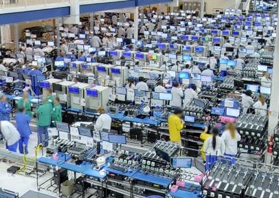 Neem een kijkje in de Motorola fabriek in de Verenigde Staten