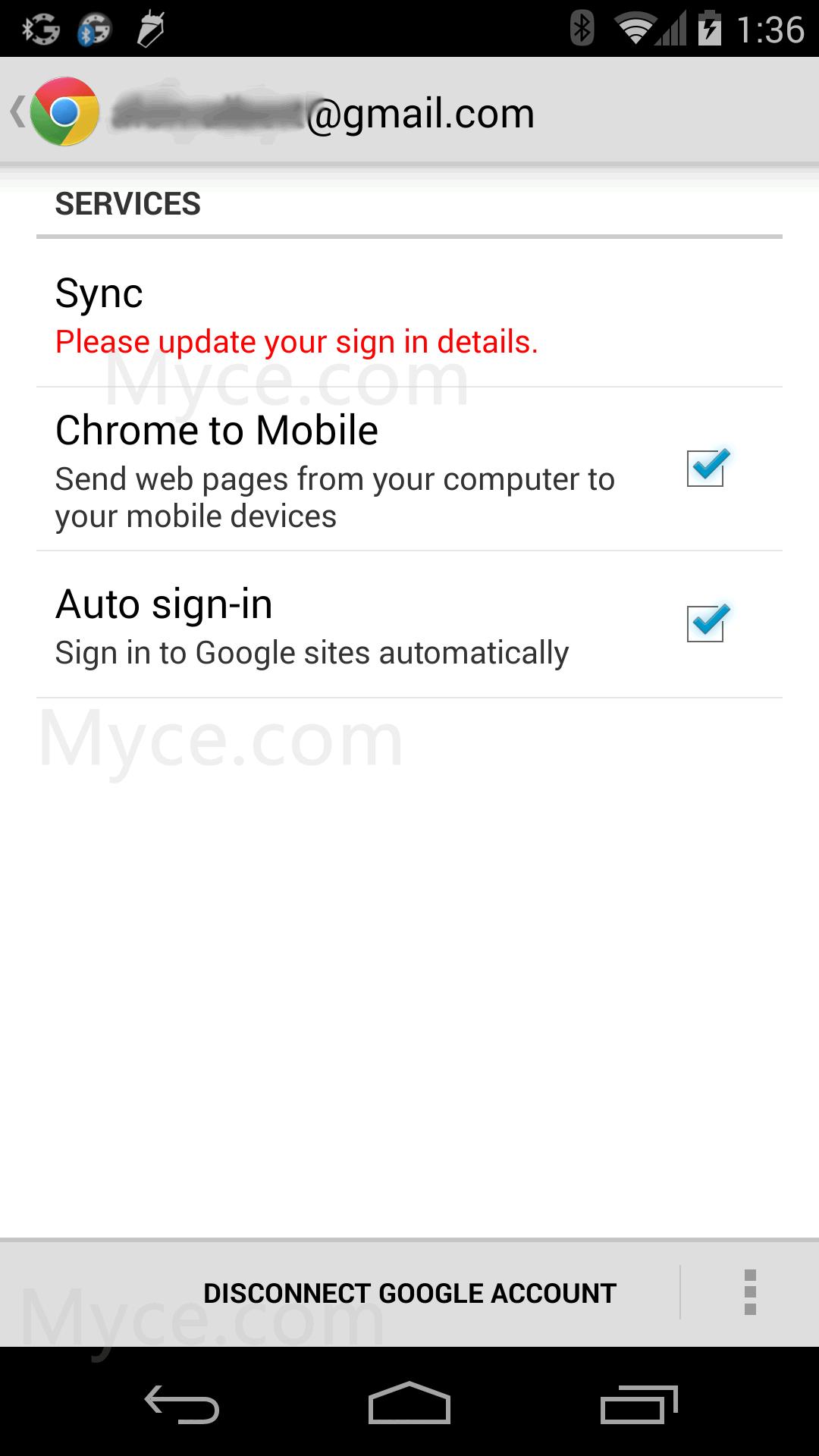 'Screenshot van Nexus 5 duikt op, toont Android 4.4'