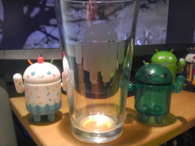 Android Etch: gepersonaliseerde Android-glazen via Indiegogo-project