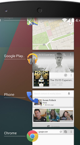 Android 4.4 onthuld interface