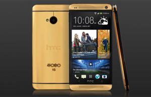 Gouden HTC One moet ruim 3000 euro kosten