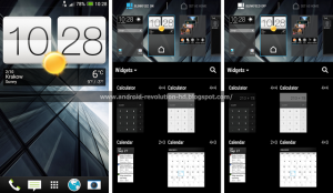 HTC 5.5 screenshots