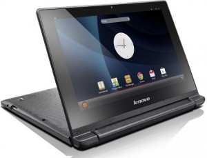 Android-laptop Lenovo IdeaPad A10 lekt uit in foto's