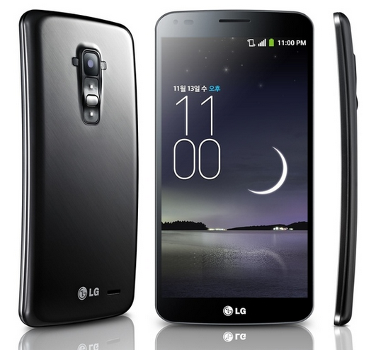LG G Flex video toont flexibiliteit van smartphone