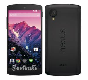 'Nieuwe Nexus 5 foto lekt uit in aanloop naar release' – update