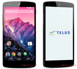 Foutje Google: Nexus 5 te koop in de Play Store voor 349 dollar