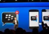 BlackBerry Messenger release voor Android binnen een aantal dagen
