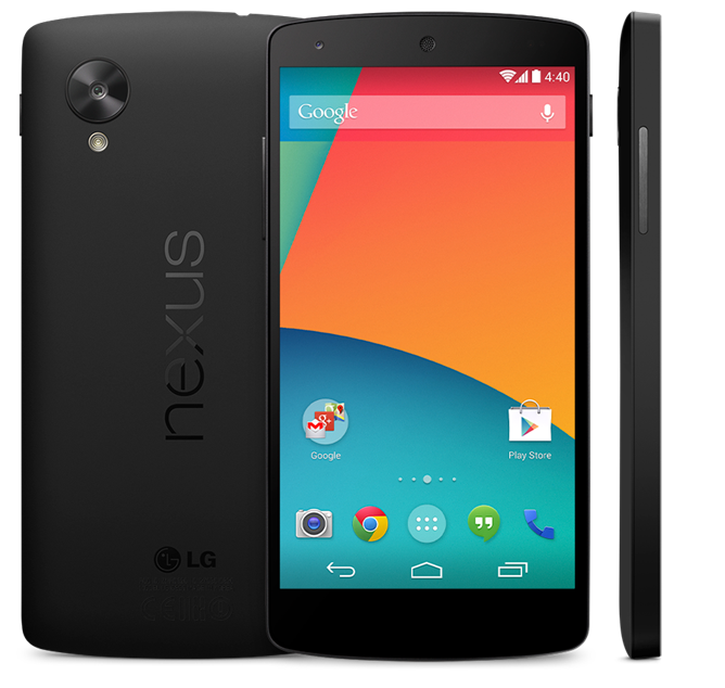 Nexus 5 persfoto
