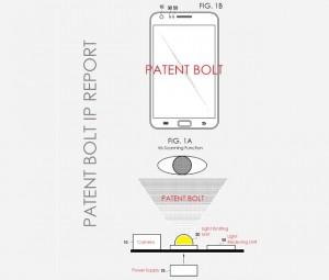 Galaxy S5 irisscanner patent