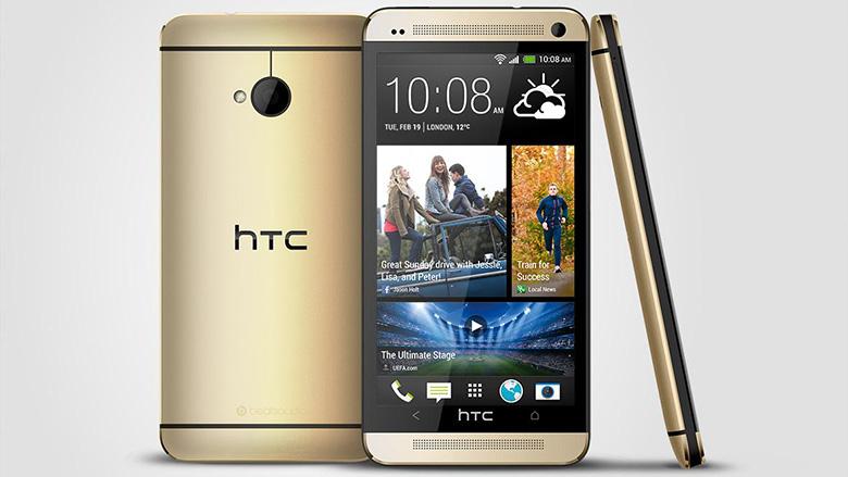 Gouden HTC One aangekondigd