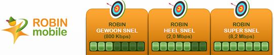 Robin Mobile abonnementen