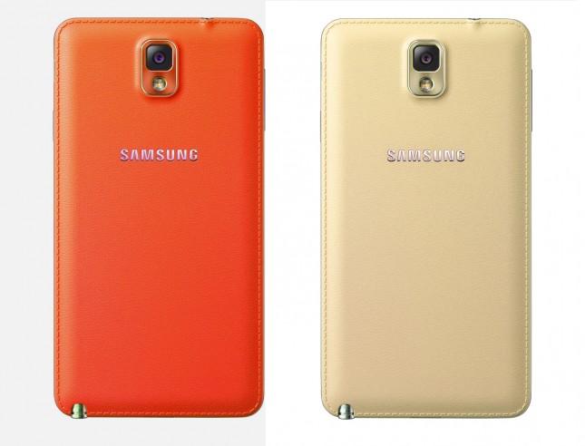 'Galaxy Note 3 komt in nieuwe kleuren rood en goud'