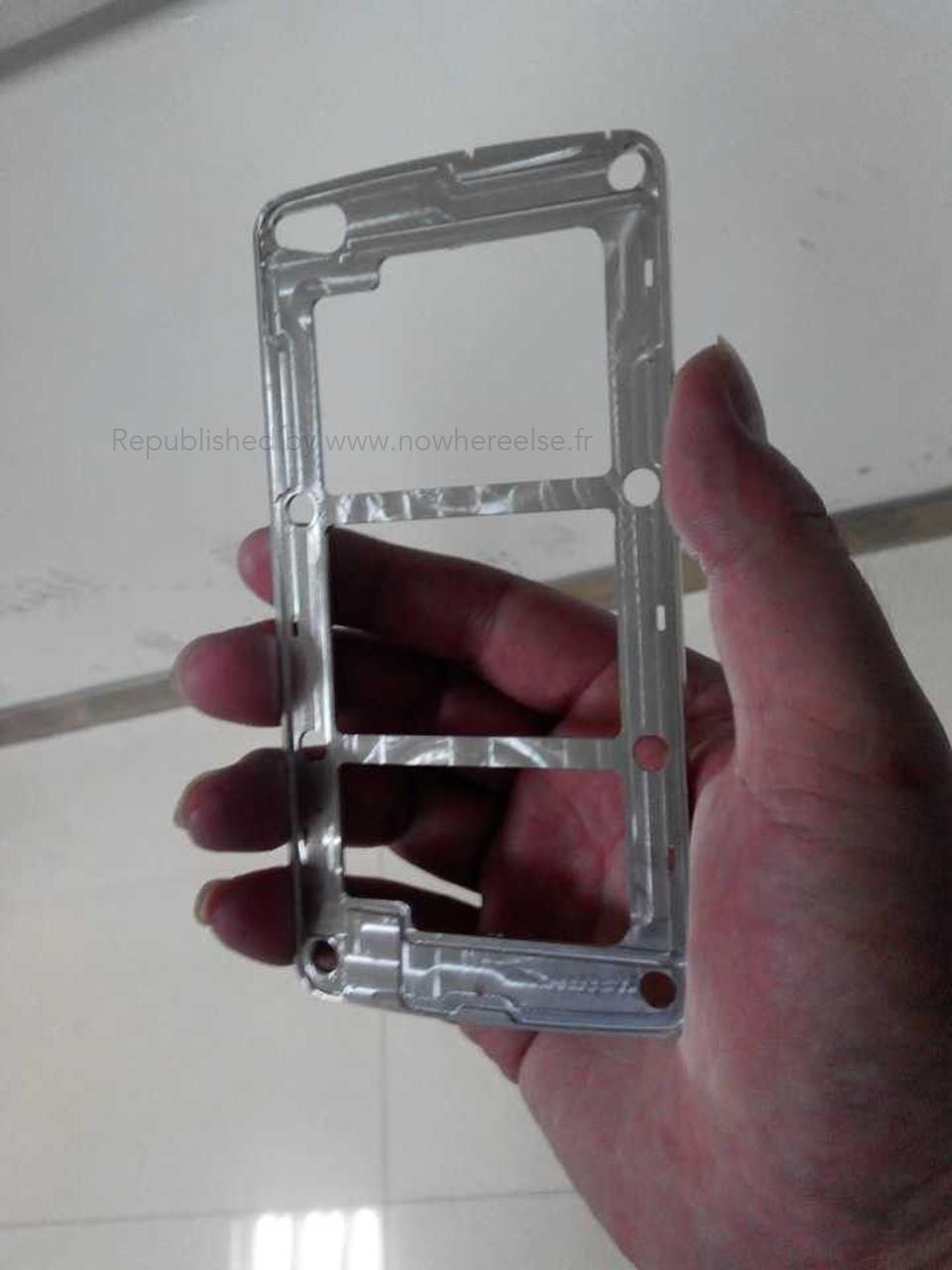'Galaxy S5 metalen frame gelekt, op foto's te zien'