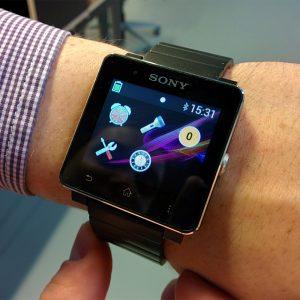 Smartwatch 2 scherm